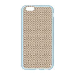 Pattern Ornament Brown Background Apple Seamless iPhone 6/6S Case (Color)