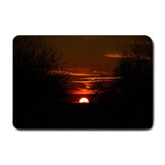 Sunset Sun Fireball Setting Sun Small Doormat