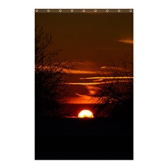 Sunset Sun Fireball Setting Sun Shower Curtain 48  X 72  (small)