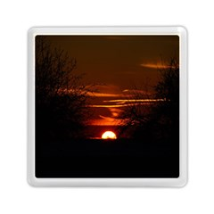 Sunset Sun Fireball Setting Sun Memory Card Reader (Square)