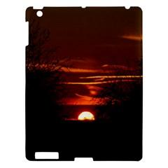 Sunset Sun Fireball Setting Sun Apple iPad 3/4 Hardshell Case