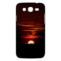 Sunset Sun Fireball Setting Sun Samsung Galaxy Mega 5.8 I9152 Hardshell Case