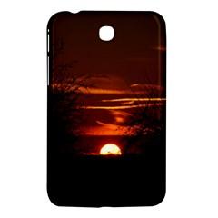 Sunset Sun Fireball Setting Sun Samsung Galaxy Tab 3 (7 ) P3200 Hardshell Case