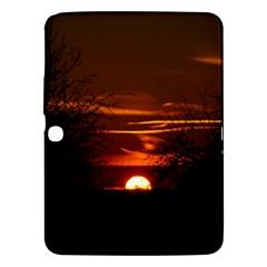Sunset Sun Fireball Setting Sun Samsung Galaxy Tab 3 (10.1 ) P5200 Hardshell Case