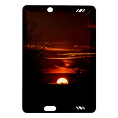 Sunset Sun Fireball Setting Sun Amazon Kindle Fire HD (2013) Hardshell Case