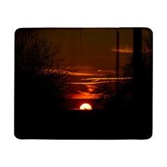 Sunset Sun Fireball Setting Sun Samsung Galaxy Tab Pro 8.4  Flip Case