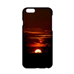 Sunset Sun Fireball Setting Sun Apple iPhone 6/6S Hardshell Case