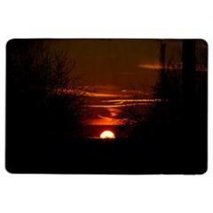 Sunset Sun Fireball Setting Sun iPad Air 2 Flip