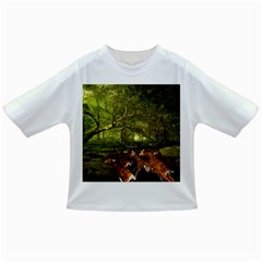 Red Deer Deer Roe Deer Antler Infant/toddler T Shirts