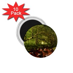 Red Deer Deer Roe Deer Antler 1.75  Magnets (10 pack)