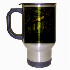 Red Deer Deer Roe Deer Antler Travel Mug (Silver Gray)