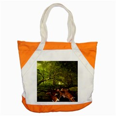 Red Deer Deer Roe Deer Antler Accent Tote Bag