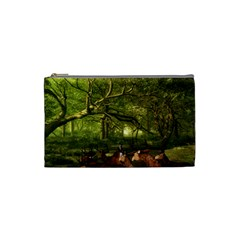 Red Deer Deer Roe Deer Antler Cosmetic Bag (Small)
