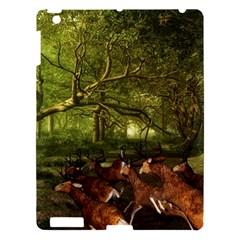 Red Deer Deer Roe Deer Antler Apple iPad 3/4 Hardshell Case