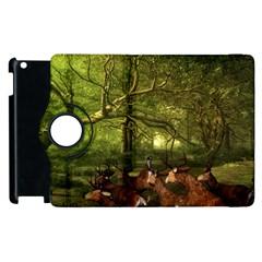 Red Deer Deer Roe Deer Antler Apple Ipad 3/4 Flip 360 Case