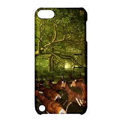 Red Deer Deer Roe Deer Antler Apple iPod Touch 5 Hardshell Case with Stand