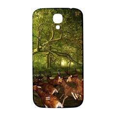Red Deer Deer Roe Deer Antler Samsung Galaxy S4 I9500/I9505  Hardshell Back Case