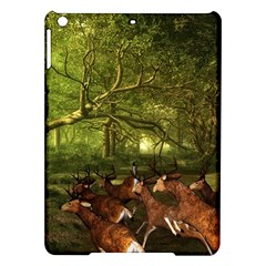 Red Deer Deer Roe Deer Antler iPad Air Hardshell Cases