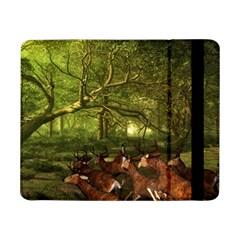Red Deer Deer Roe Deer Antler Samsung Galaxy Tab Pro 8.4  Flip Case