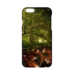 Red Deer Deer Roe Deer Antler Apple iPhone 6/6S Hardshell Case