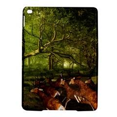 Red Deer Deer Roe Deer Antler iPad Air 2 Hardshell Cases
