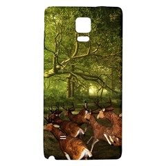 Red Deer Deer Roe Deer Antler Galaxy Note 4 Back Case