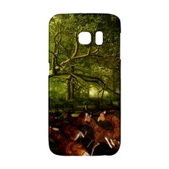 Red Deer Deer Roe Deer Antler Galaxy S6 Edge