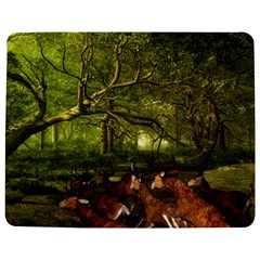 Red Deer Deer Roe Deer Antler Jigsaw Puzzle Photo Stand (Rectangular)