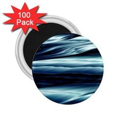 Texture Fractal Frax Hd Mathematics 2 25  Magnets (100 Pack)