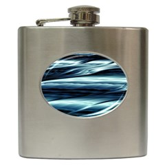 Texture Fractal Frax Hd Mathematics Hip Flask (6 Oz)
