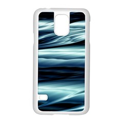 Texture Fractal Frax Hd Mathematics Samsung Galaxy S5 Case (White)