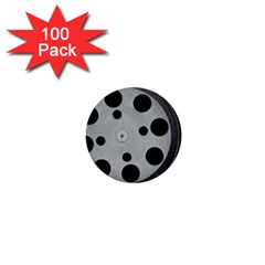 Turntable Record System Tones 1  Mini Buttons (100 pack)