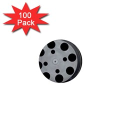 Turntable Record System Tones 1  Mini Magnets (100 Pack)