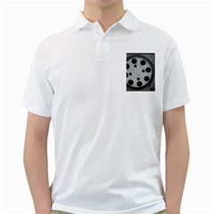 Turntable Record System Tones Golf Shirts