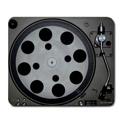 Turntable Record System Tones Large Mousepads