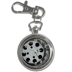 Turntable Record System Tones Key Chain Watches