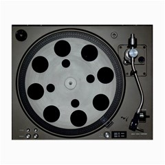 Turntable Record System Tones Small Glasses Cloth