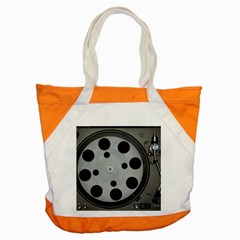 Turntable Record System Tones Accent Tote Bag