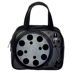Turntable Record System Tones Classic Handbags (one Side)