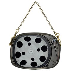 Turntable Record System Tones Chain Purses (One Side)