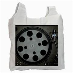 Turntable Record System Tones Recycle Bag (one Side)