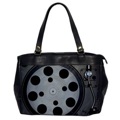Turntable Record System Tones Office Handbags
