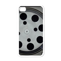 Turntable Record System Tones Apple iPhone 4 Case (White)