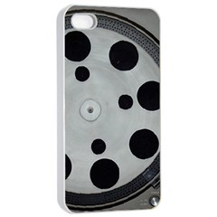 Turntable Record System Tones Apple iPhone 4/4s Seamless Case (White)