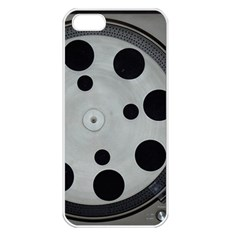 Turntable Record System Tones Apple iPhone 5 Seamless Case (White)