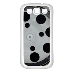 Turntable Record System Tones Samsung Galaxy S3 Back Case (White)