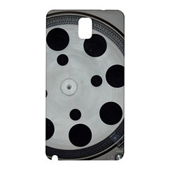 Turntable Record System Tones Samsung Galaxy Note 3 N9005 Hardshell Back Case