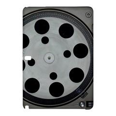 Turntable Record System Tones Samsung Galaxy Tab Pro 10.1 Hardshell Case