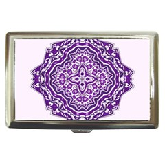 Mandala Purple Mandalas Balance Cigarette Money Cases