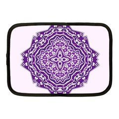 Mandala Purple Mandalas Balance Netbook Case (medium)